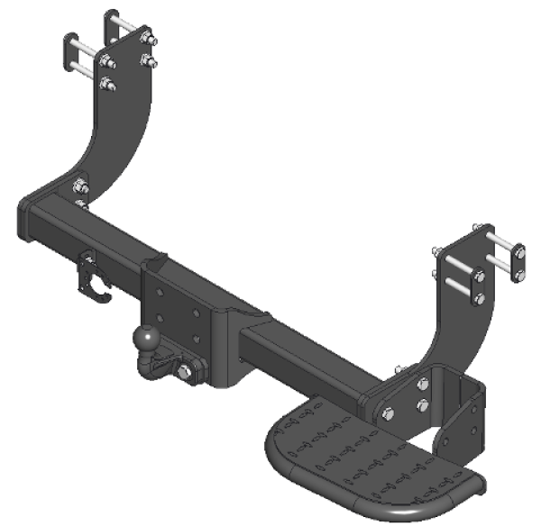 Tow step for Hyunday H350