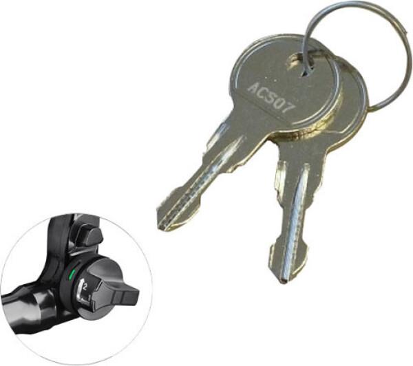 keys for BMU tow bar