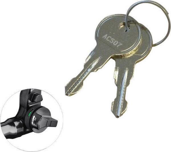 keys for BMU tow bar